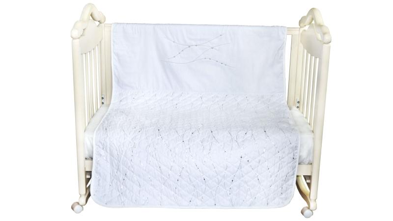 В кроватку новорожденного Покрывало-пододеяльник Серебряные сны фото (1)