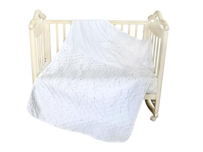 В кроватку новорожденного Покрывало-пододеяльник Серебряные сны фото