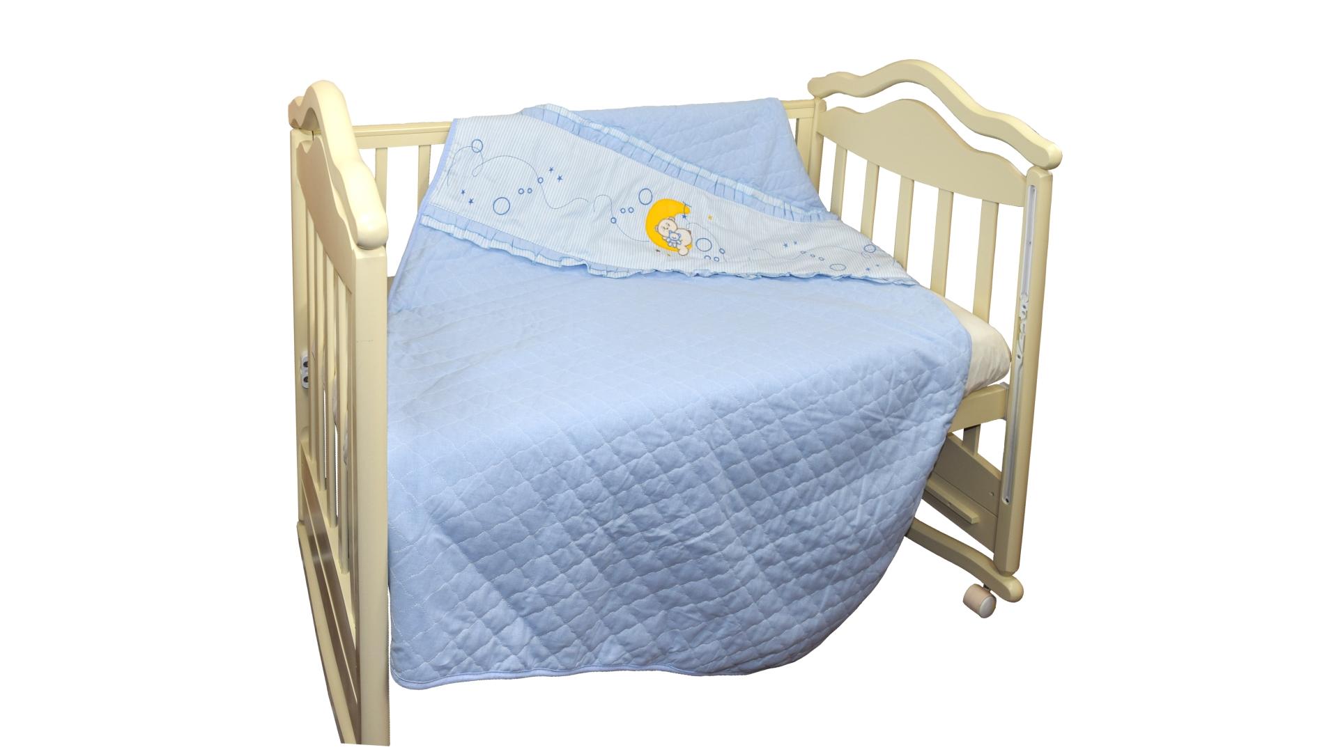 В кроватку новорожденного Покрывало-пододеяльник Соня фото FullHD (0)