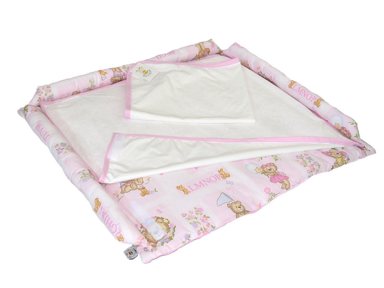 Пеленальный матрасик Сладкий сон (розовый) фото FullHD (0)